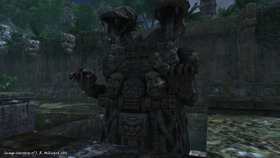 Mexico statue 01