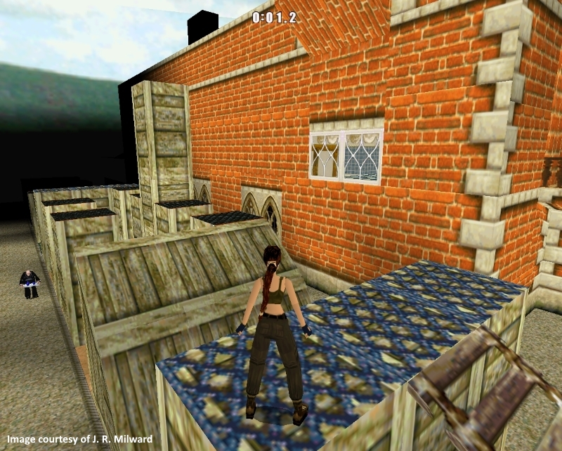 Tomb Raider II assault course