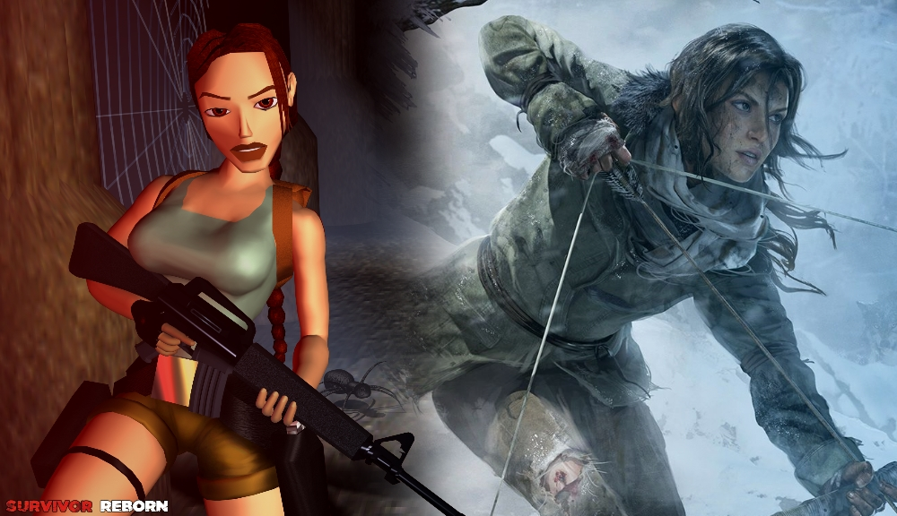 Image result for lara croft ps1 comparison